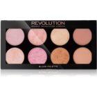 Makeup Revolution Golden Sugar 2 Rose Gold paleta fard de obraz
