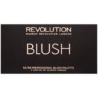 Makeup Revolution Ultra Blush All About Pink arcpirosító paletta