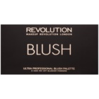 Makeup Revolution Ultra Blush All About Pink paleta rdečil