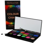 Makeup Revolution Colour Chaos paleta farduri de ochi