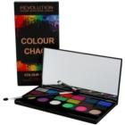 Makeup Revolution Colour Chaos paleta farduri de ochi