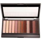 Makeup Revolution Essential Mattes 2 paleta očních stínů