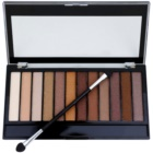 Makeup Revolution Essential Shimmers paletka očných tieňov