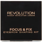 Makeup Revolution Focus & Fix set pentru sprancene perfecte