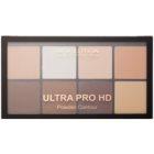 Makeup Revolution Ultra Pro HD Fair палетка для контурів обличчя пудрова