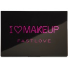 Makeup Revolution I ♥ Makeup Fast Love paleta očních stínů