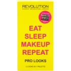 Makeup Revolution Pro Looks Eat Sleep Makeup Repeat paleta očních stínů