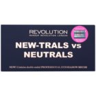 Makeup Revolution New-Trals vs Neutrals paleta cieni do powiek z lusterkiem i aplikatorem