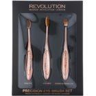 Makeup Revolution Pro Precision Brush sada štětců na oči