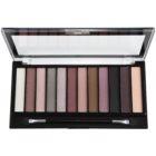 Makeup Revolution Romantic Smoked paleta očních stínů