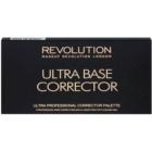 Makeup Revolution Ultra Base палетка коректорів