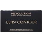 Makeup Revolution Ultra Contour paleta na kontury obličeje