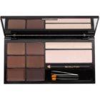 Makeup Revolution Ultra Brow paleta za ličenje obrvi