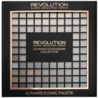 Makeup Revolution Ultimate Iconic szemhéjfesték paletta applikátorral