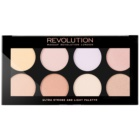 Makeup Revolution Ultra Strobe and Light освітлююча палетка