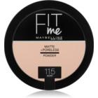Maybelline Fit Me! Matte+Poreless pó matificante