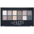 Maybelline The Nudes палітра тіней