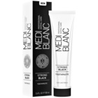 MEDIBLANC Strong Black dentrífico para proteção total dos dentes com efeito branqueador