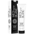MEDIBLANC Strong Black zobna pasta za popolno zaščito zob z belilnim učinkom