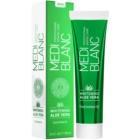 MEDIBLANC Whitening Aloe Vera відновлююча зубна паста з відбілюючим ефектом