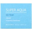 Missha Super Aqua Ice Tear feuchtigkeitsspendende Gesichtscreme