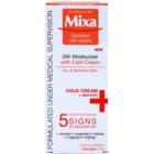 MIXA 24 HR Moisturising hydratační a vyživující krém pro zklidnění a posílení citlivé pleti