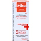 MIXA 24 HR Moisturising odżywczy krem nawilżający do złagodzenia i wzmocnienia skóry wrażliwej
