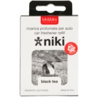 Mr & Mrs Fragrance Niki Black Tea Auto luchtverfrisser    Vervangende Vulling