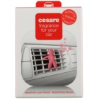 Mr & Mrs Fragrance Cesare Silky Rose Car Air Freshener 1 pc