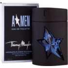 Mugler A*Men eau de toilette per uomo 100 ml ricaricabile Rubber Flask