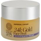 Natura Siberica Fresh Spa Imperial Caviar verjüngendes Hautpeeling mit 24 Karat Gold