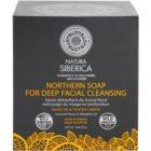 Natura Siberica Wild Herbs and Flowers detoxikační pleťové mýdlo pro hloubkové čištění