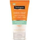 Neutrogena Visibly Clear Spot Proofing čisticí emulze a maska 2 v 1