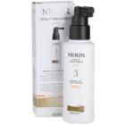 Nioxin System 3 bőrápolás vegyileg kezelt finom haj kezdeti enyhe elvékonyodása ellen