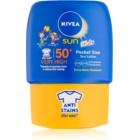 Nivea Sun Kids дитяче молочко для засмаги міні варіант SPF 50+