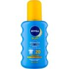Nivea Sun Protect & Bronze spray de corp pentru un bronz intens SPF 20