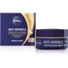 Nivea Anti-Wrinkle Revitalizing crema de noche reparadora  antiarrugas