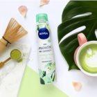 Nivea Crispy Cucumber & Matcha Tea osvěžující tělová pěna pro intenzivní hydrataci