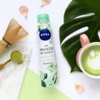 Nivea Crispy Cucumber & Matcha Tea освіжаюча пінка для тіла для інтенсивного зволоження