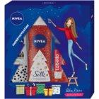 Nivea Silk Mousse Sweet Snowflakes косметичний набір I.