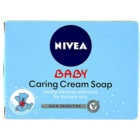 Nivea Baby jabón con textura de crema