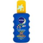 Nivea Sun Kids színezett napozó spray gyermekeknek SPF 50+