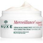Nuxe Merveillance Anti-Falten Creme für trockene bis sehr trockene Haut