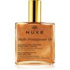 Nuxe Huile Prodigieuse Or πολυλειτουργικό ξηρό λάδι με στρας Για  πρόσωπο, σώμα και μαλλιά