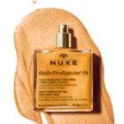 Nuxe Huile Prodigieuse OR ulei uscat multifuncțional cu sclipici pentru față, corp și păr