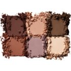 NYX Professional Makeup Lid Lingerie palette de 6 teintes nuancées