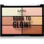 NYX Professional Makeup Born To Glow highlight paletta