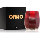 Onno Lotus Flower Red bougie parfumée 16 x 20 cm  red