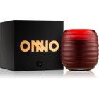 Onno Zanzibar Red świeczka zapachowa  13 x 15 cm