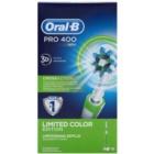 Oral B Pro 400 D16.513 CrossAction Green elektrický zubní kartáček